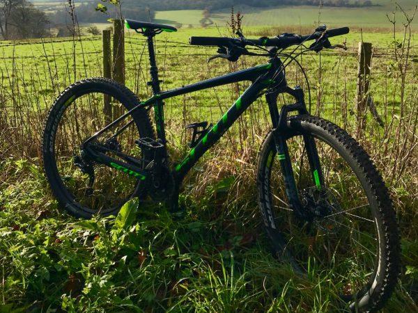 Family mountain bike trail