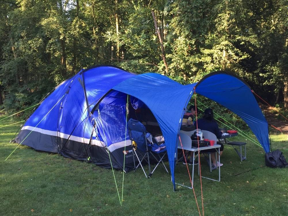 Swapped a family tent